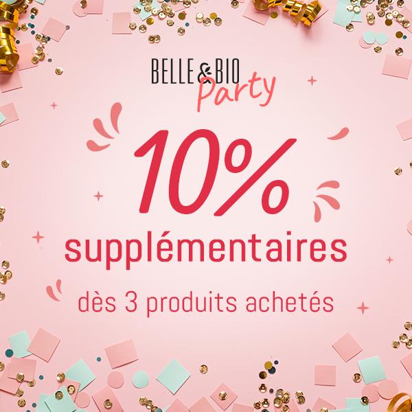 Promo Belle&Bio 10% dès 3 produits